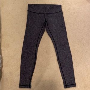 Lululemon thermal leggings size 10